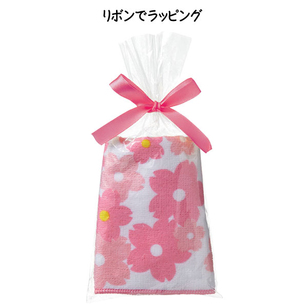 桜ハンドタオル・粗品屋本舗